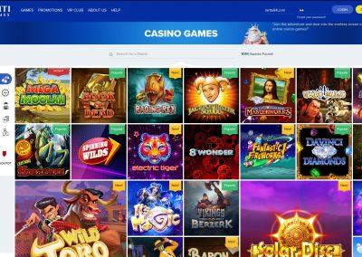 Ahti games Casino Lobby