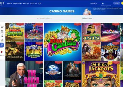 Ahti games casino slots lobby