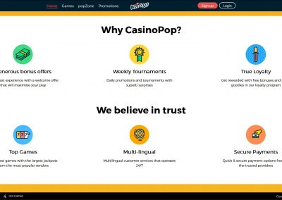 Casinopop Promotions