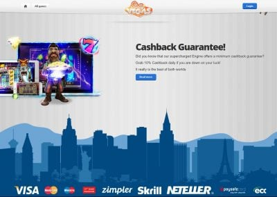 Slotty vegas Cashback Guarantee
