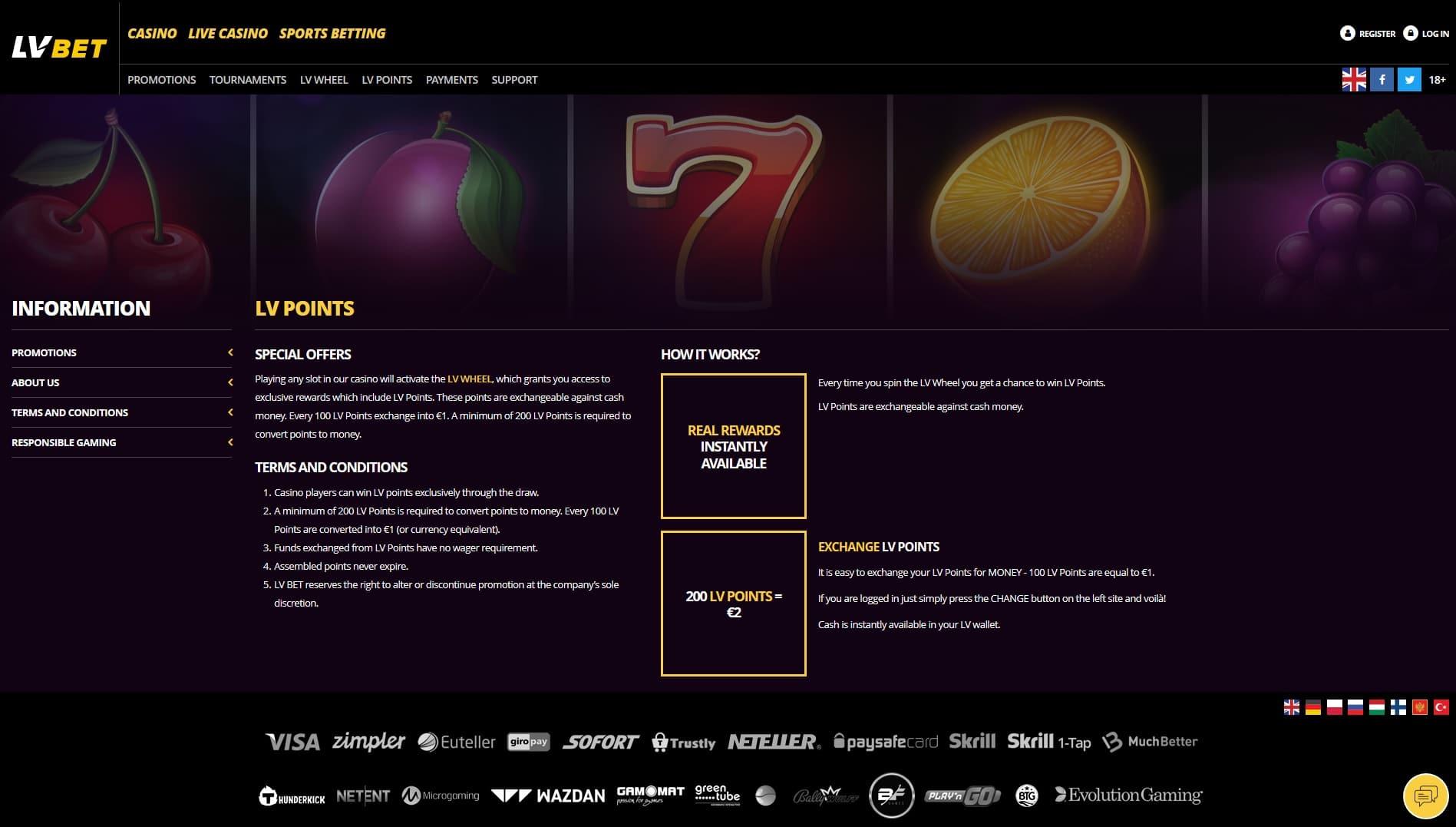 LVBet Review - 5€ No Deposit Bonus + 1000€ Casino Bonus (2019)