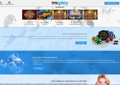 mr.play Casino winners