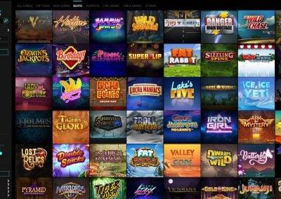 voodoo dreams Casino slots lobby
