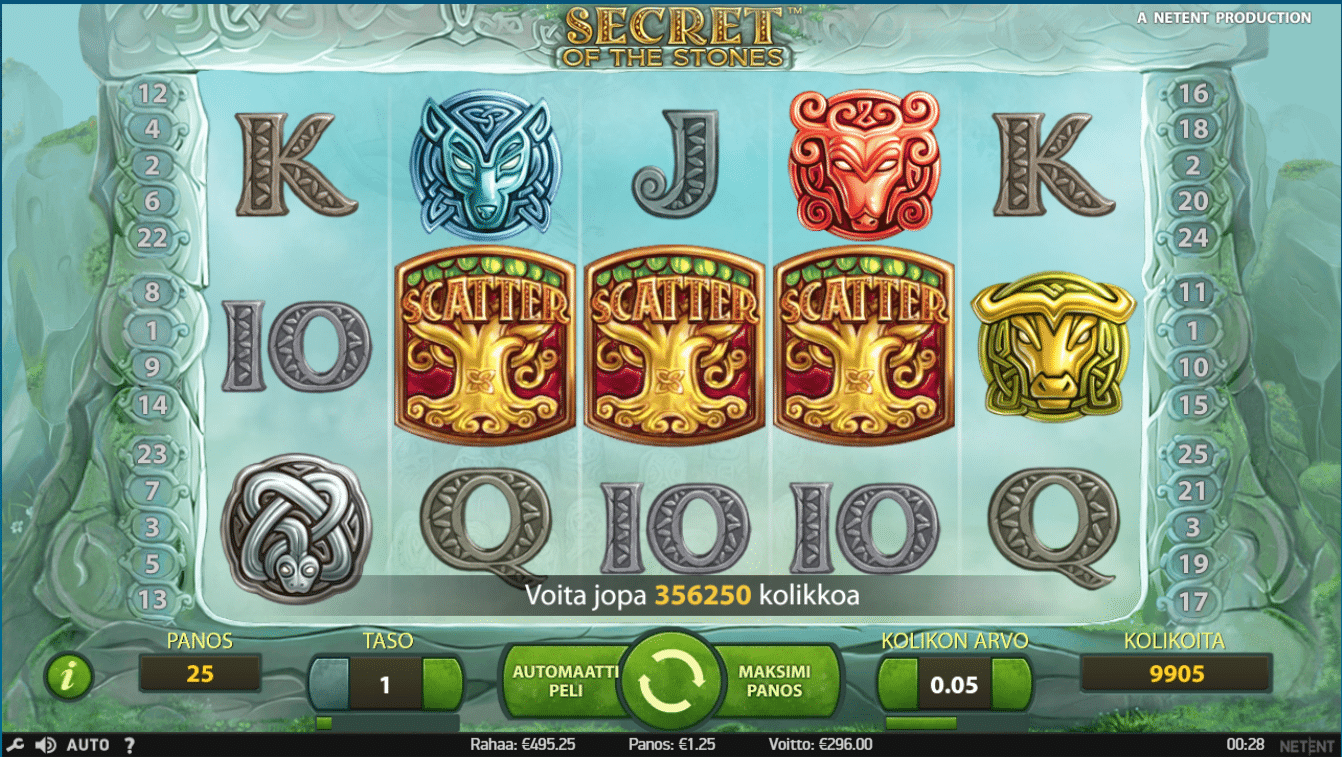 Secret of the stones slot big win picture
