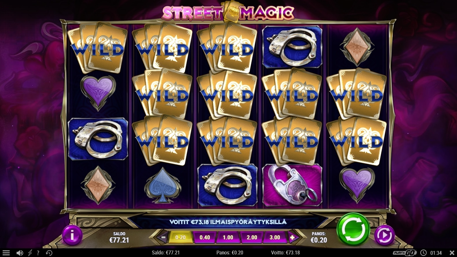 Street Magic slot big win picture