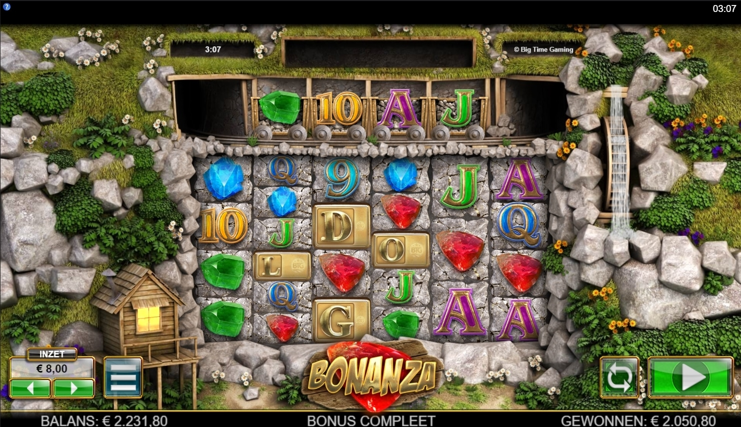 Bonanza By Big Time gaming Big Win Picture