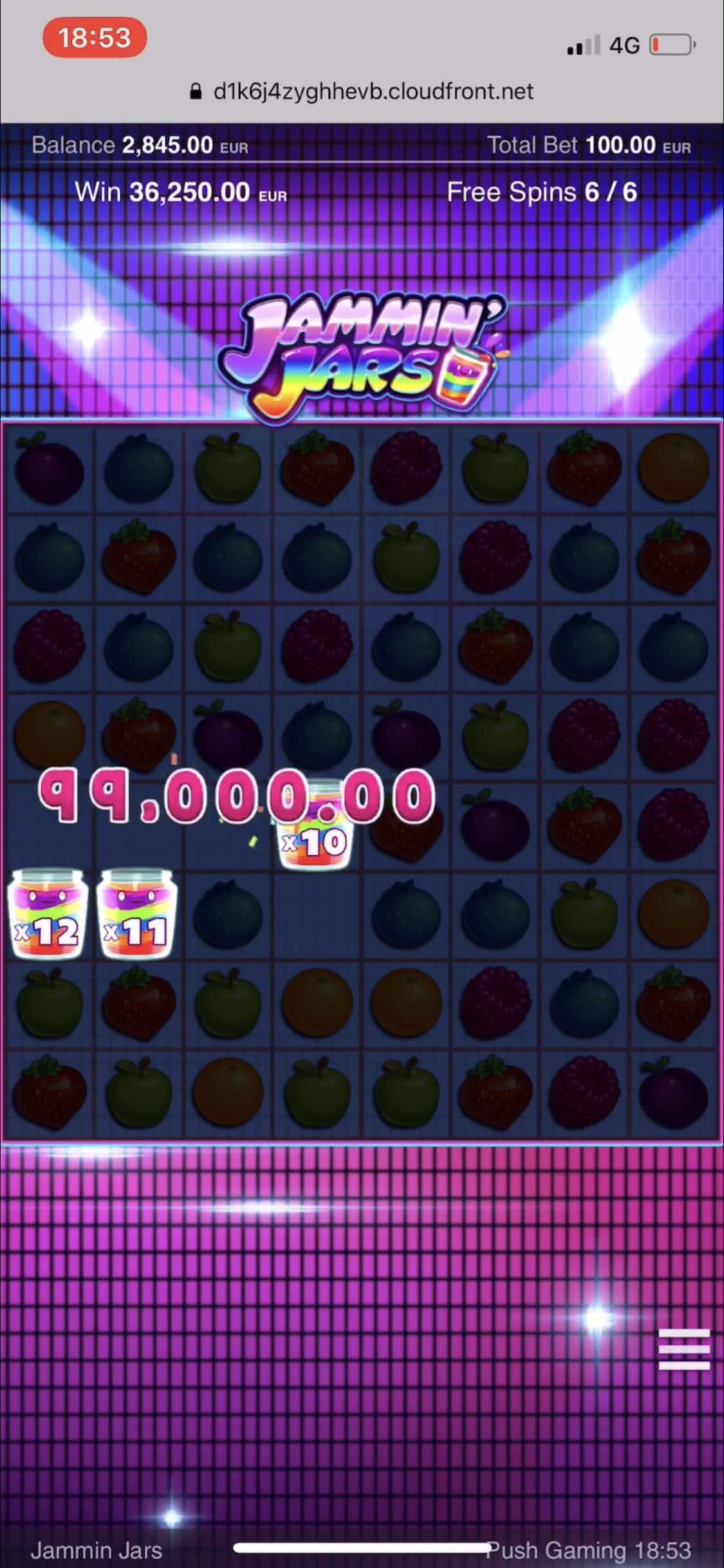 Jammin Jars Push Gaming Big Win picture
