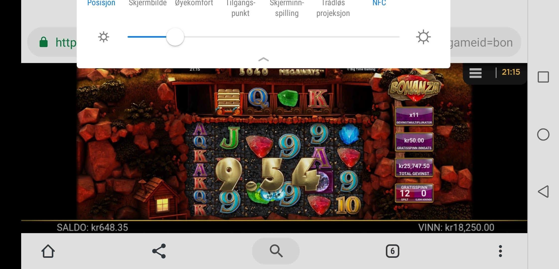 Bonanza by Big Time Gaming