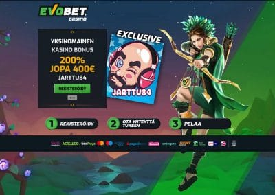 Evobet Exclusive Bonus