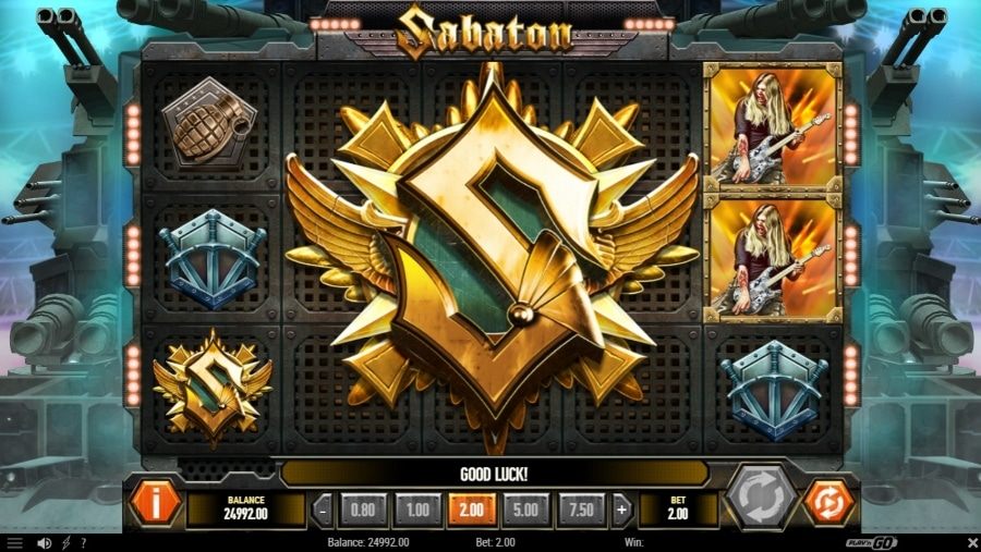 Sabaton slot batallion spins Feature Screenshot