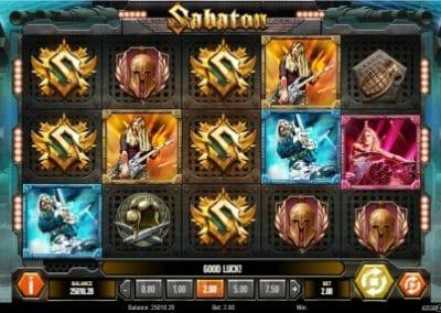 Sabaton Scatter Symbols
