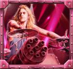 Sabaton Drummer Logo