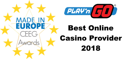 Best Online Casino Provider 2018 Ceeg Award