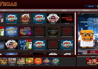BoVegas Casino table games