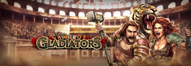 Game Of Gladiators Game Banner
