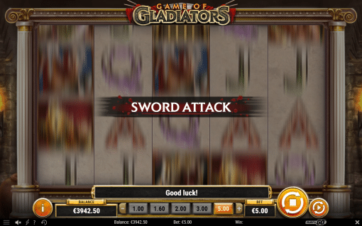 Game of Gladiators Sword Attack Feature Screenshot