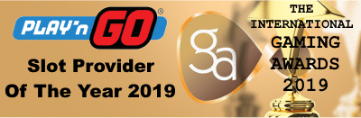 Slot Provider of the year 2019 award