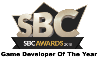 Game developer of the year 2018 SBC award