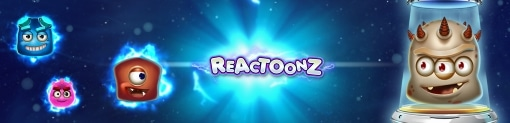 Reactoonz by Play'n Go Slot Banner