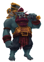 Hall Of the Mountain King Troll Image