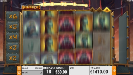 Hall of the Mountain King Free spins stage 3