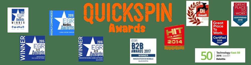 Quickspin Awards