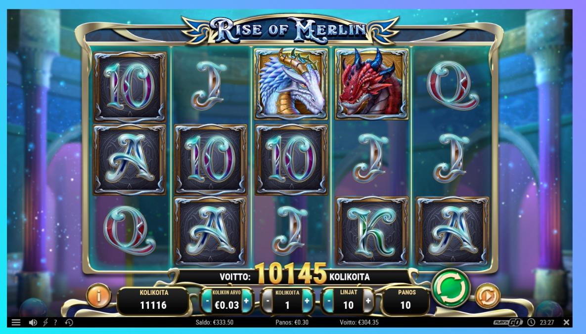 Rise of Merlin Big Win by mrzenfi