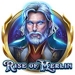 Rise of Merlin Slot Logo