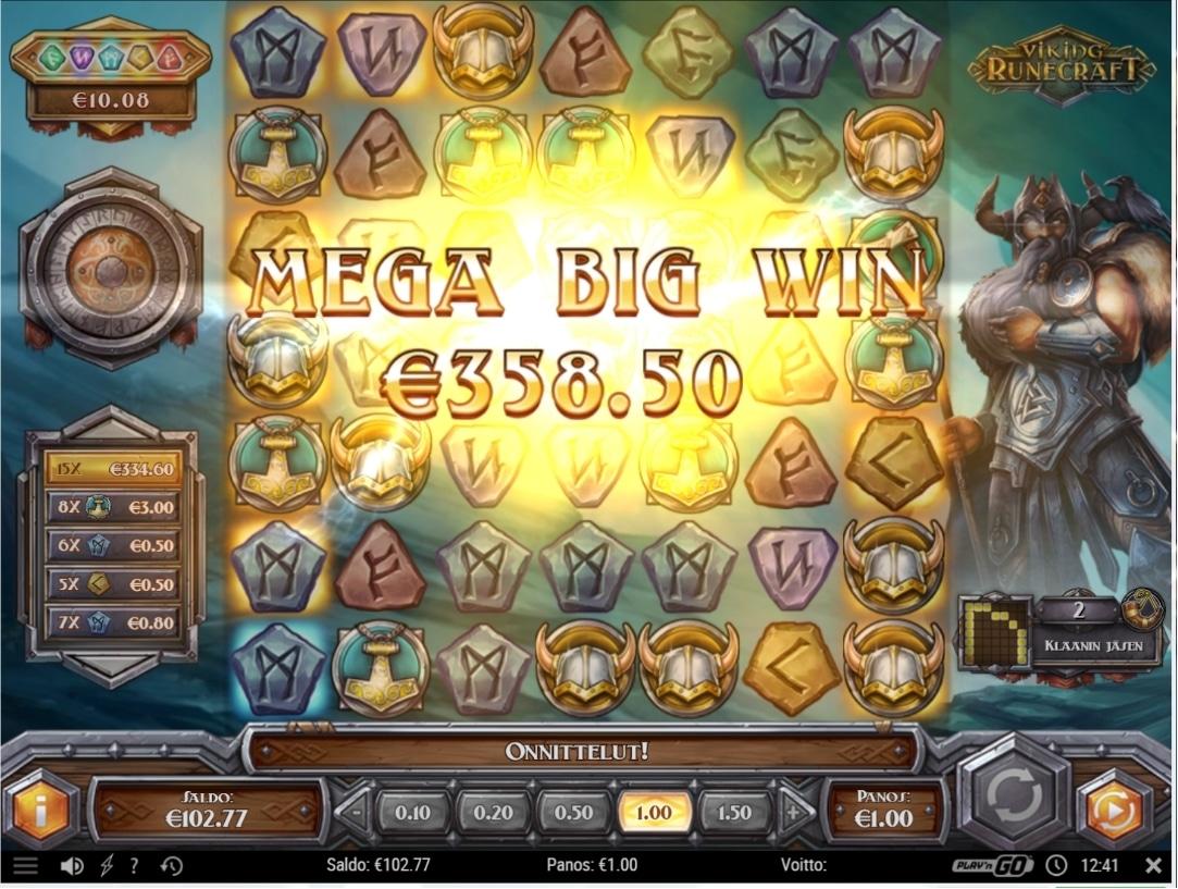 Viking Runecraft Big Win Picture