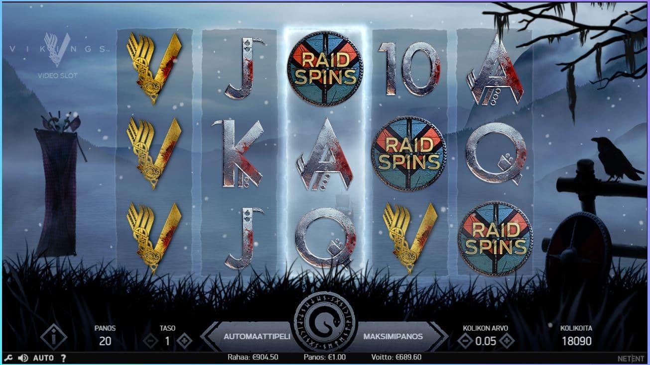 Vikings Slot Big win Picture