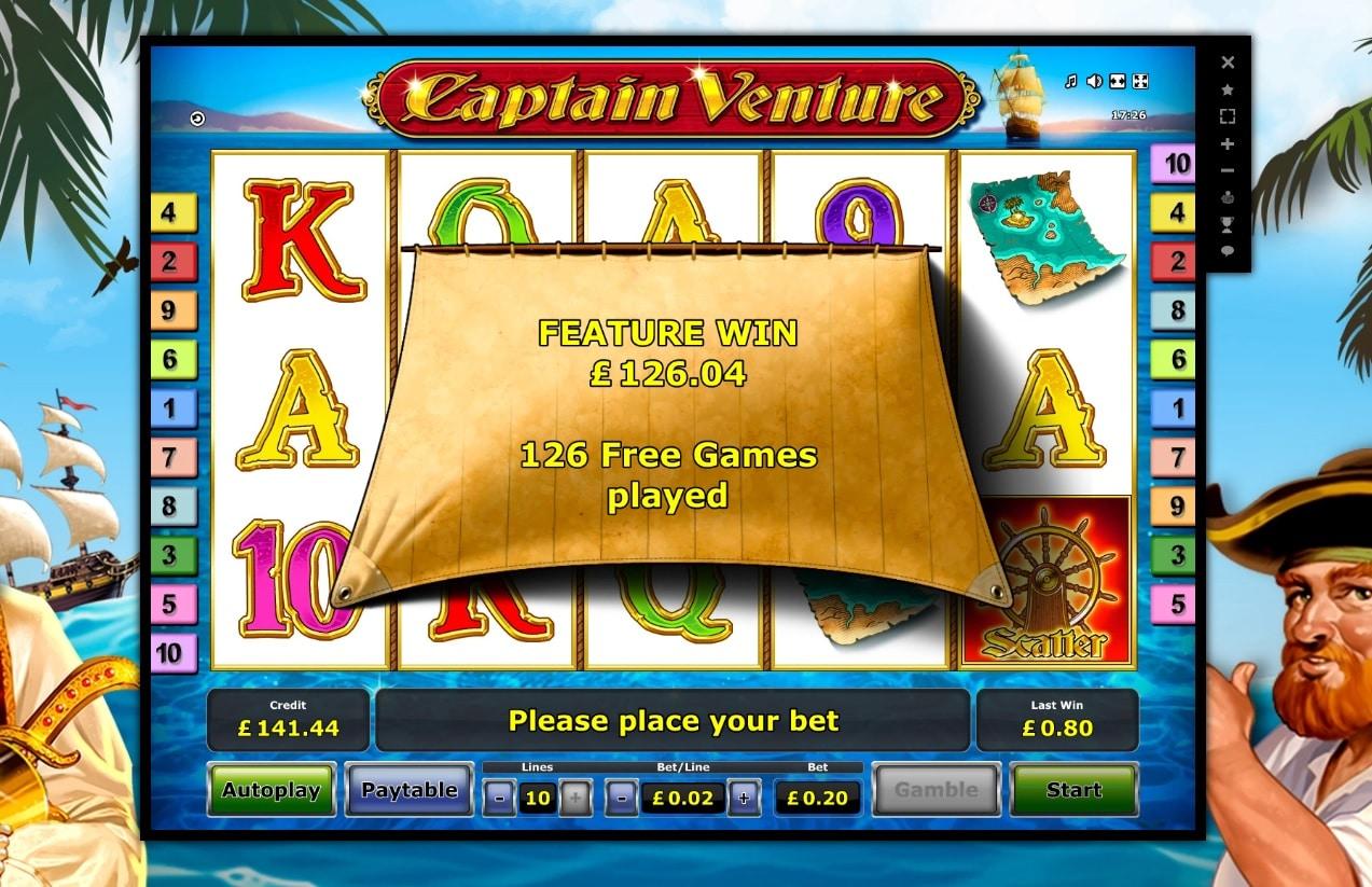 captain venture Big Win Picture