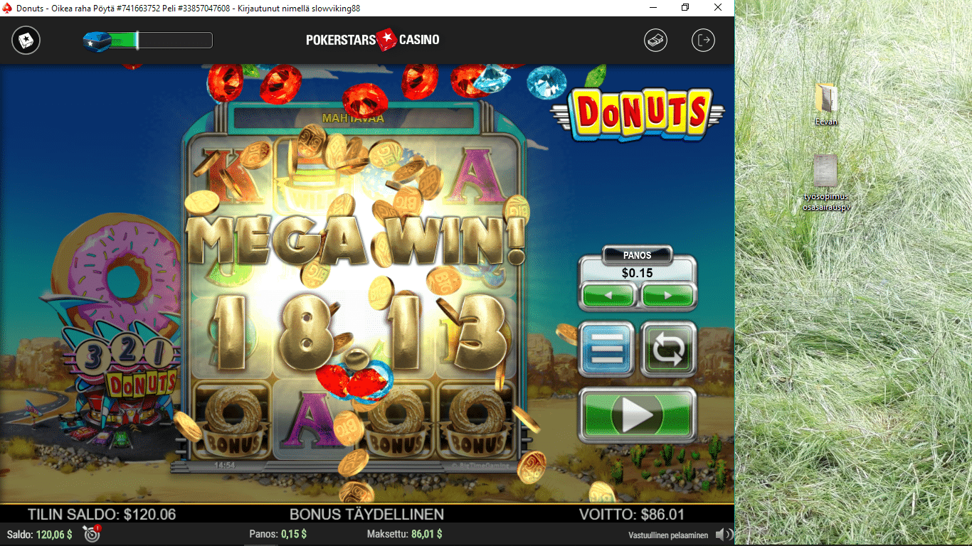 Donuts Slot Big Win Picture