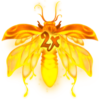 Firefly Frenzy 2x Wild Symbol