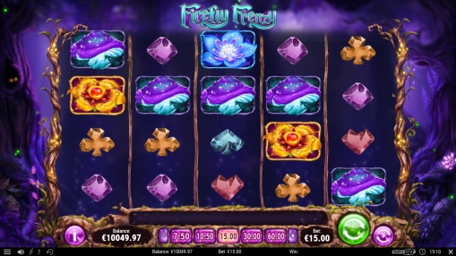 Firefly Frenzy Slot Gameplay Screenshot