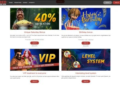 Red Pingwin Casino Promotions