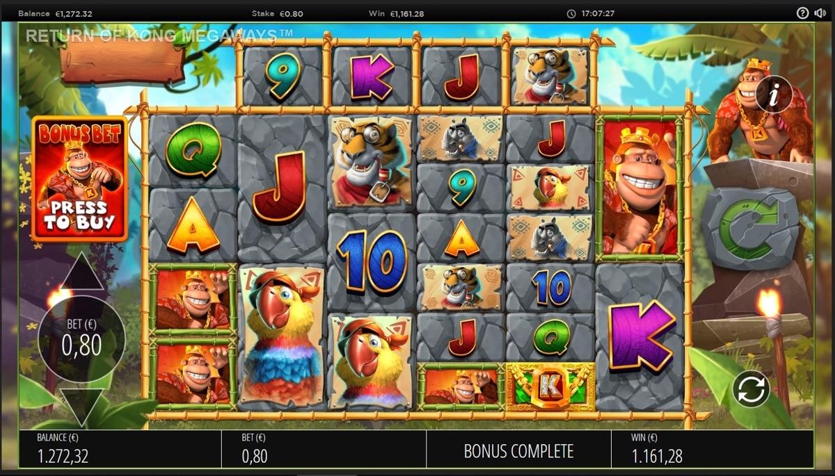 Return Of Kong Megaways slot Big Win picture