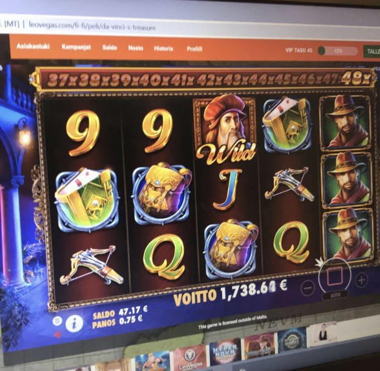 Da Vinci's Treasure Big Win Picture
