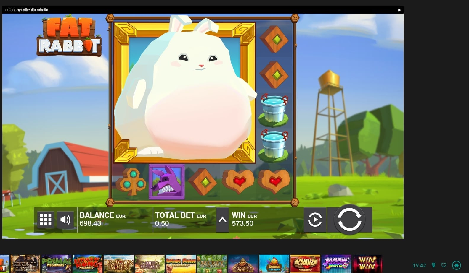 Fat Rabbit Big Win Picture