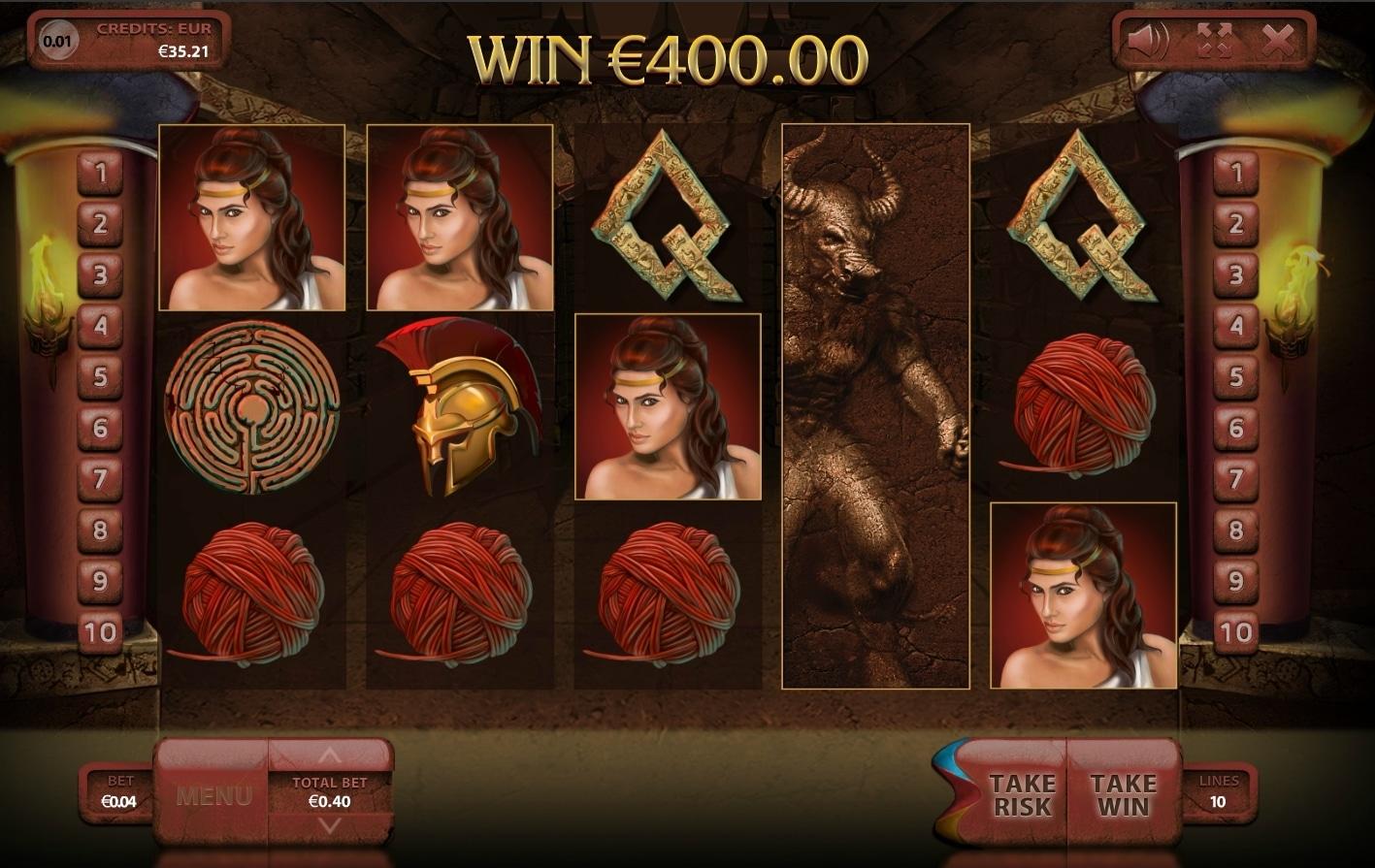 Minotauros Big Win Picture