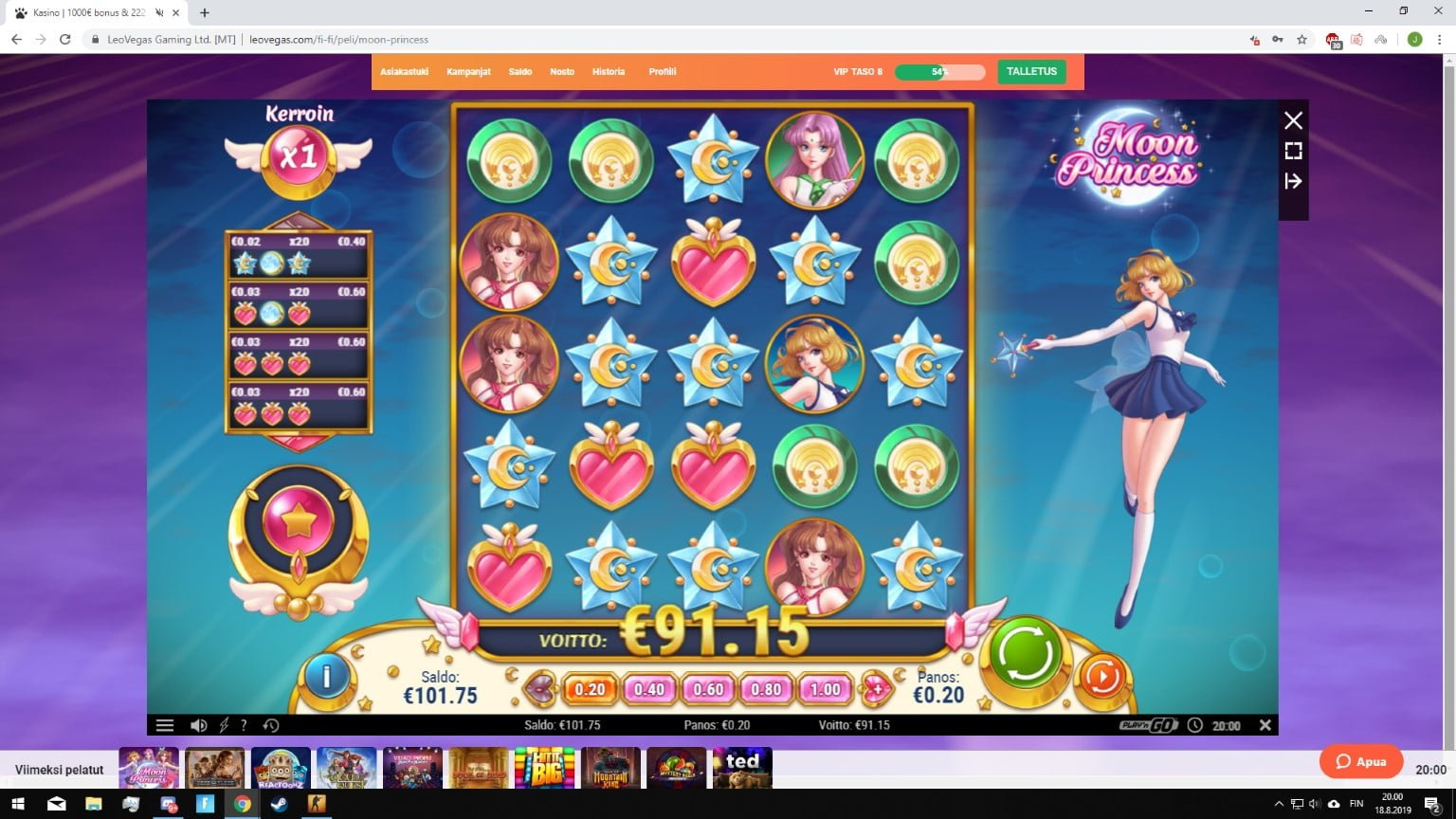 Moon Princess Big Win Picture by R0KSH00Tz