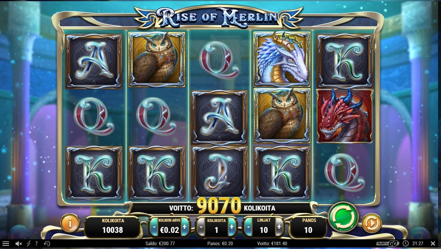 Rise of Merlin Big win Picture by Dj_Niemi