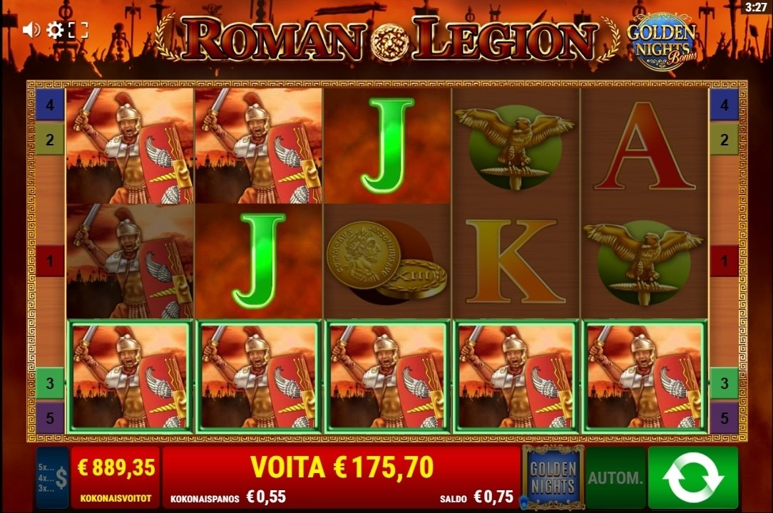 Roman Legion Big win Picture
