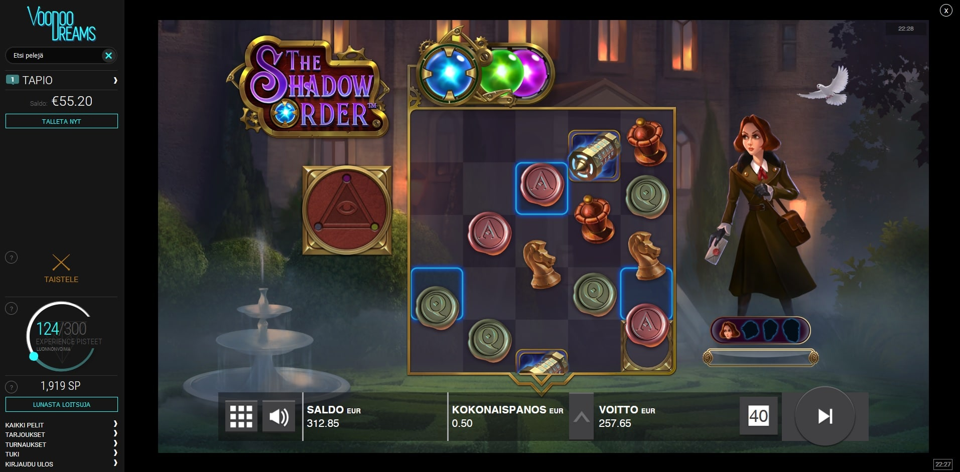 The Shadow Order Big Win Picture