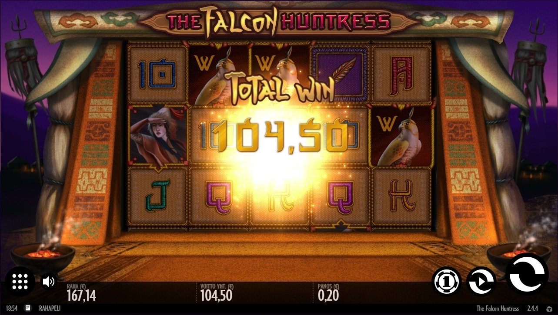 The Falcon Huntress big win picture