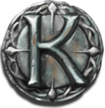 The sword and the grail K Symbol