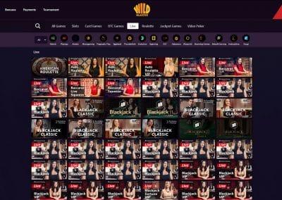 Wildblaster Casino Live Casino Games