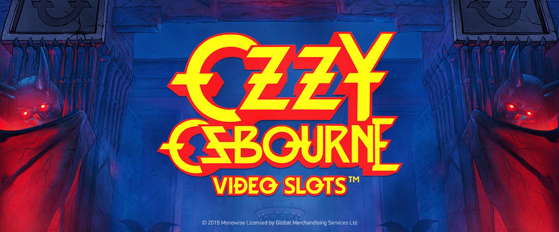 Ozzy Ozbourne Video Slot banner