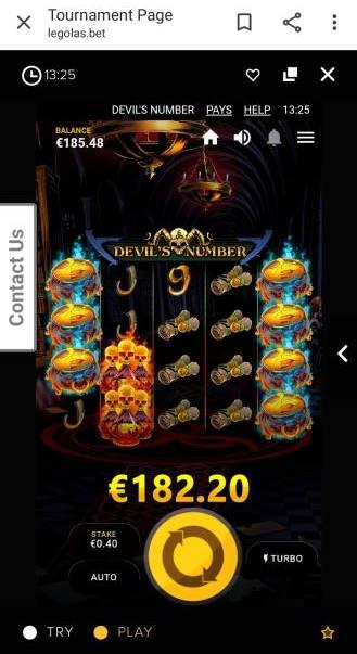 Devils Number Slot big win picture