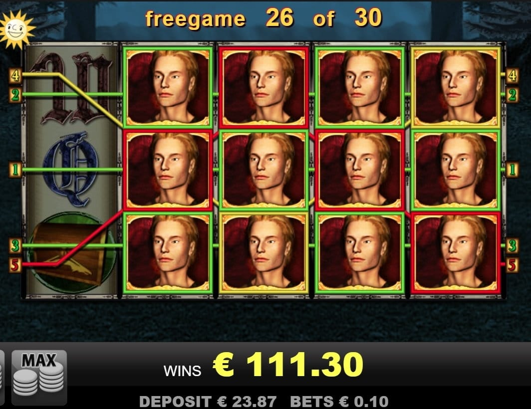 Dragon's Treasure Slot big win picture