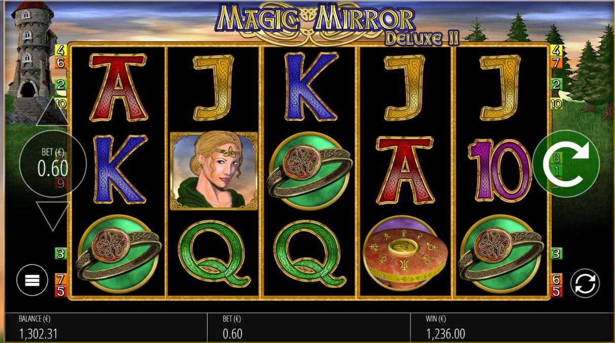 Magic Mirror Deluxe II slot big win picture
